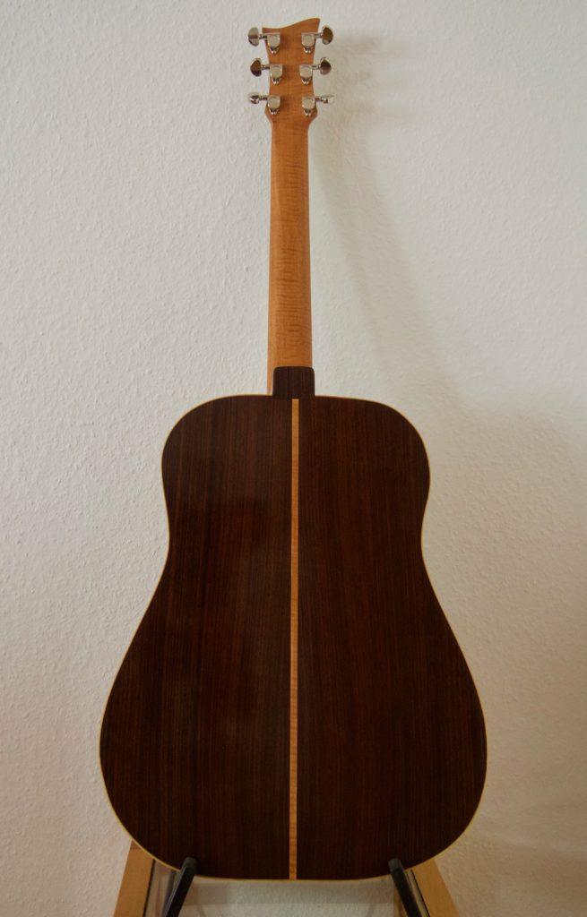 Linkshänder Western Gitarre